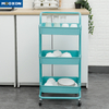 Space Save Home Furniture Kitchen Island Cart Storage Rack Storage Trolley Cart