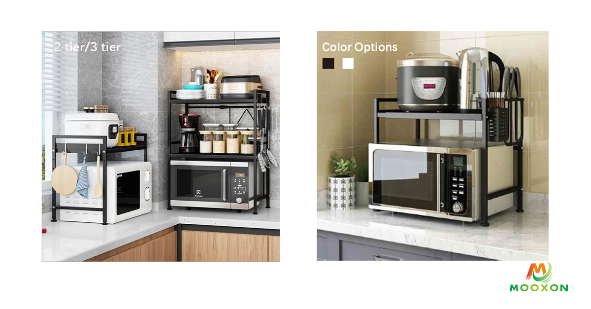 Adjustable Microwave Oven Rack