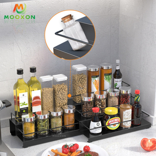 Popular 3 Tier Metal Kitchen Accessories Holder Kitchen Spice Rack