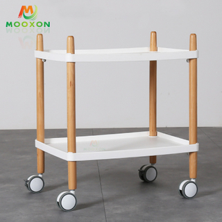 Space Save Home Bedroom Metal Storage Rack Kitchen Storage Trolley