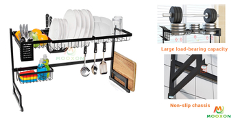 Removable Stainless Steel Dish Rack