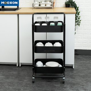 Space Save Home Kitchen Multifunction Rack Storage Shelf Trolley In Hand Carts