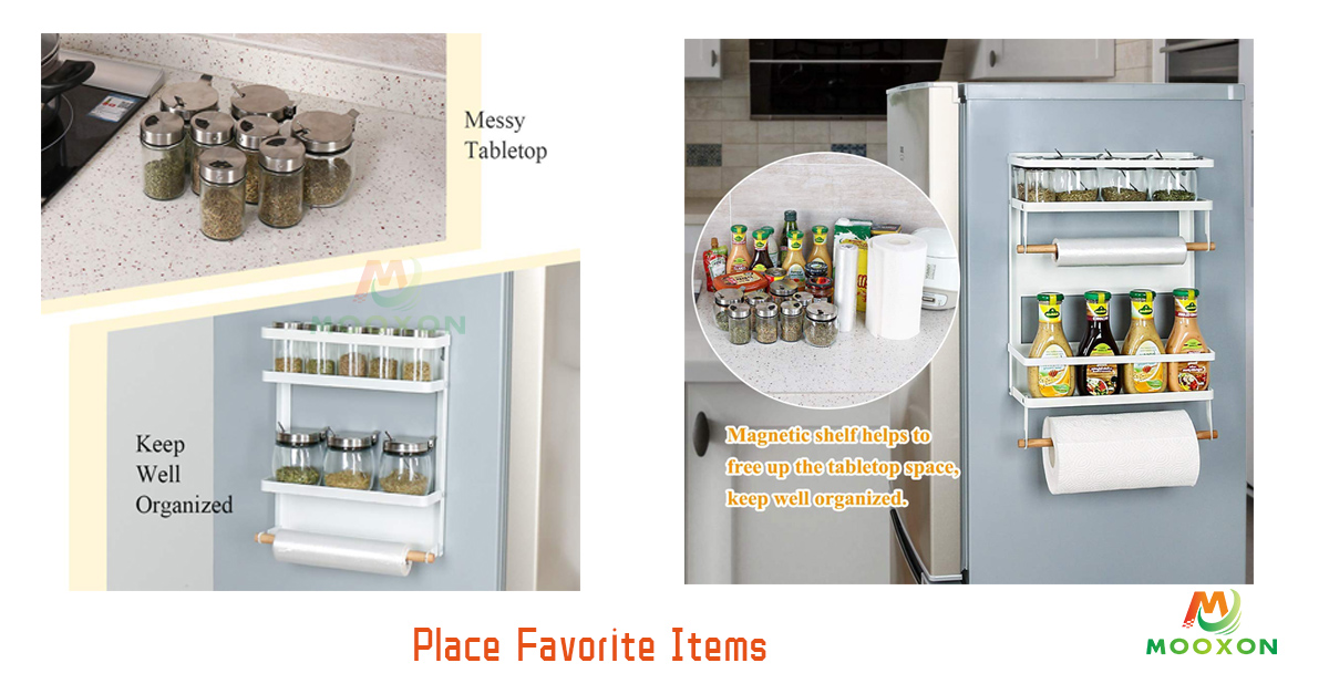 Magnetic Fridge Rack-Fits The Spice Inside