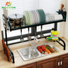 Hot Sale Stainless Steel Standing Kitchen Storage Over Sink Dish Drying Rack