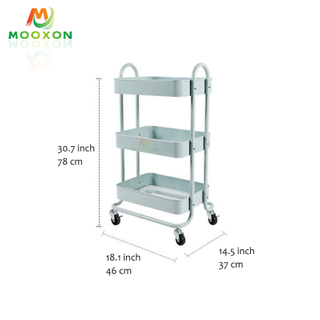 High-Quality Indoor Home Kitchen Multifunction Mobile Kitchen Storage Organizer
