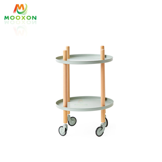New Home Rolling Storage Trolley Bathroom Mobile Trolley Kitchen Living Room Storage Trolley