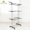 3 Layers Standing Type Multifunctional Foldable Laundry Hanging Clothes Storage Holders Racks