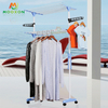 Space Save Household 3 Layers Standing Type Foldable MultiPurpose Drying Clothes Rack