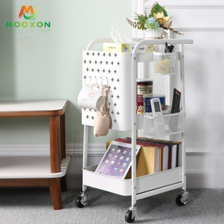 Utility Bedroom Storage Organizer Shelf Kitchen Storage Trolley
