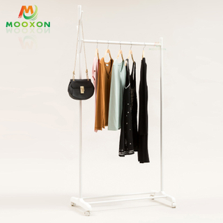Shopping Stores Rolling Garment Display Storage Hanging Clothing Rack