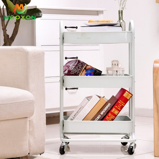 Space Save 3 Tier Storage Cart Mobile Kitchen Storage Organizer Trolley