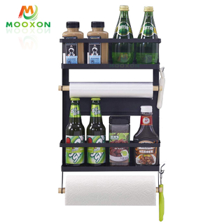 Fridge Organizer Refrigerator Storage Holder Kitchen Shelf Megnet Hanging Rack