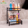201 Stainless Steel Standing Kitchen Storage Holder Bottle Jars Organizer Spice Rack